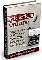 Write Articles Online - Digital Book - Click Here